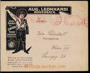 29265 - 1939 advertising envelope f.. Aug. Leonhardi Bodenbach, fact