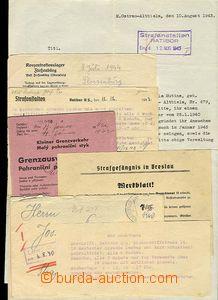 29401 - 1941-44 věznice BRESLAU, KT FLOSSENBÜRG  příběh jednoho