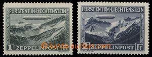 29434 - 1931 Mi.114-5 Zeppelinpost, svěží, kat. ANK 550€