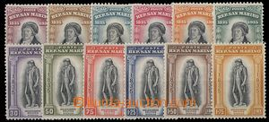 29451 - 1935 Mi.215-226, complete set of, superb only Mi.217 with se