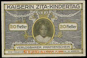 29505 - 1916 AUSTRIA-HUNGARY  ticket empress Zita - Kindertag values