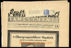29564 / 1369 - Philately / Protectorate Bohemia-Moravia / Newspaper Stamps
