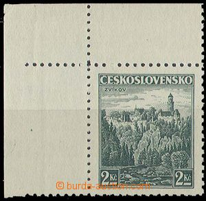 29607 - 1939 Czechosl. stmp Pof.307 with stab. point for overprint B