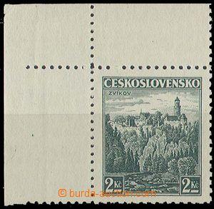 29607 - 1939 čsl. známka Pof.307 s nápich. bodem pro přetisk Ča