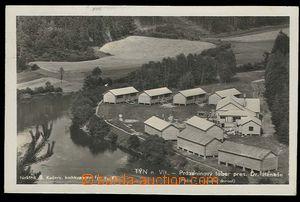 29609 - 1938 TÝN NAD VLTAVOU - čb fotopohlednice prázdninového tábor