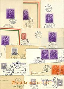 29621 - 1938 sestava 12ks různých celistvostí a suvenýrů s raz�