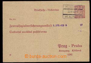29658 - 1940 Pof.CUP1/II. díl, razítko nádr. pošt. schránky Kla