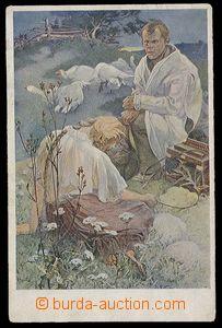 29690 - 1919 MUCHA Alfons (1860–1939), Beatitudes (Weill.131), Ble