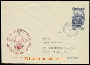 29720 - 1965 COB16 sent as printed matter to Austria, special postma