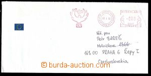 29757 - 1992 Czechoslovakia  letter from Czechosl. military pozorova