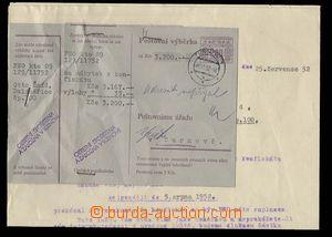 29769 - 1952 stationery CPV22 I. and II. part odděleně připnuty stap