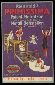 29779 - 1929 reklama firmy Reinholds na kovové matrace Primissima,