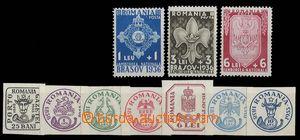 29791 - 1933-36 2 kompletní řady, Mi.450-56, kat. 40€ + Mi.516-18, k