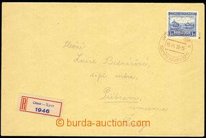 29818 - 1939 R-dopis vyfr. zn. Pof.351, Sněm Karpatské Ukrajiny, �