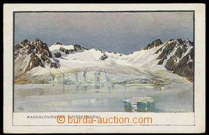 29911 - 1900 SVALBARD (Svalbard, Spitzbergen) - painted postcard Mag