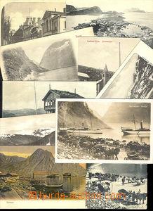 29916 - 1900-40 POHLEDNICE  NORSKO  sestava 25ks pohlednic malého f