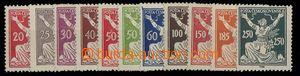 29961 - 1920 Pof.151-161A, c.v.. 520CZK