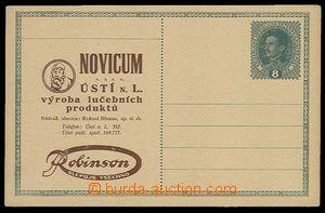 29963 - 1918? PC with additional-printing NOVICUM Ústí n./L., prod