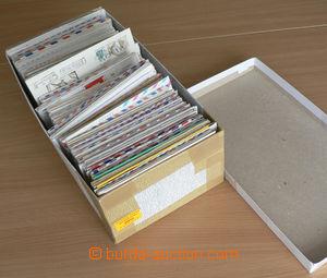 30013 - 1950-2000 WW  sestava celin a obálek v 1 krabici od bot. Ob