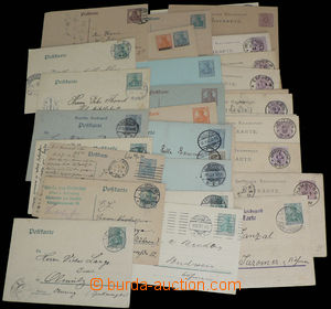 30025 - 1883-1920 GERMANY  selection of 34 pcs of PC, Us also clear,