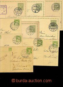 30037 - 1925-38 10ks dopisnic s pěknými otisky raz. VLP, mj. č.59