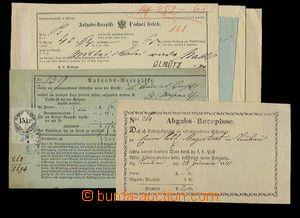 30052 - 1841-977 sestava 10ks recepisů z toho 1x vyfrankovaný fisk