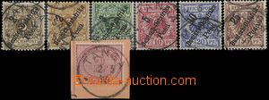 30082 - 1890-96 GERMAN EAST AFRICA  Mi.37 on cut-square with CDS Tan