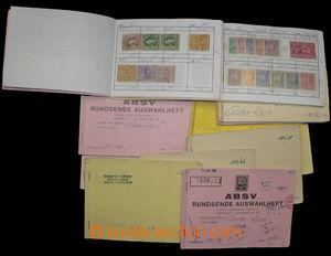 30098 - 1870-1970 COSTA RICA  sestava 12ks malých výběrových se�