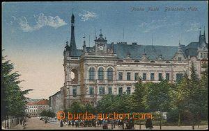30106 - 1922 NUSLE - radnice, Palackého třída, lehce odřené růžky, j