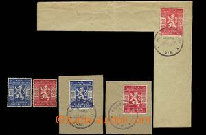 30200 - 1918 Pof.SK1-2, selection of scout stamps, 1x used separatel