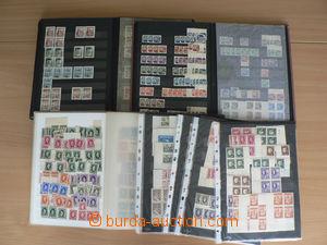 30224 - 1939-44 SLOVENSKO  větší obchodní zásoba ve 3 zásobnících A4