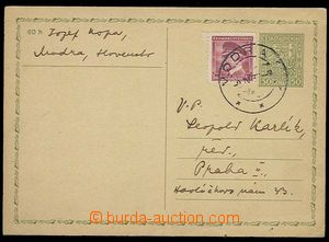 30266 - 1939 CDV65 with uprated by. 1CZK to BOHEMIA-MORAVIA, CDS Mod