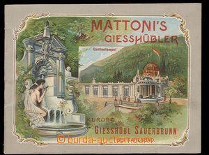 30271 - 1900 Advertising brochure on/for minerálku Mattoni, Kurort