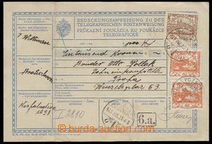 30292 - 1919 celá(!) předběžná rakouská telegrafická poukázk