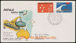 30369 - 1970 FDC se zn. Mi.432-33, Expo 70.