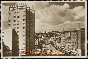 30385 - 1939 BRATISLAVA - Manderla, fotopohlednice v hnědém tónu,