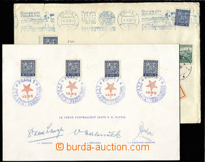 30488 - 1938 sports club. Slávie, commemorative sheet with picture