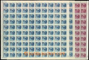 30495 - 1942 Německý ČK III., Pof.100-101, kompletní 100-známko