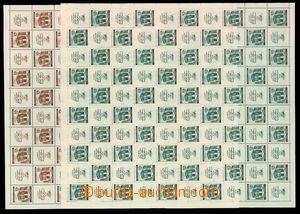 30496 - 1941 Mozart, Pof.68-69, pouze 2 hodnoty v kompletních 100ks