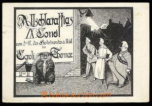 30552 - 1920 KARLOVY VARY - pohlednice s propagační čb. kresbou IX.