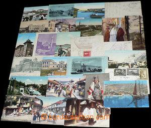 30567 - 1910-18 POHLEDNICE  Bosna a Hercegovina  sestava 24ks pohled