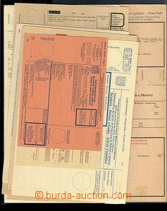 30572 - 1939-43 sestava 12ks poštovních průvodek a formulářů j