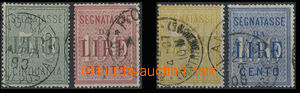 30640 - 1884-1903 on-account stamps Mi.V2-3, V4-5, cat. 84€