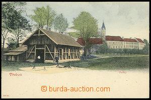31072 - 1910 Třeboň - jatky. Nepoužitá, výborný stav.