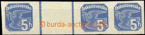 31439 - 1937 Pof.NV15 Pigeon-issue, horiz. gutter 5h + 2x5h, hinged