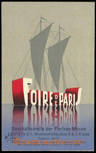 31498 - 1935 Foire de Paris, Pariser Messe, Parisian trade fair, on