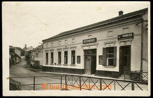 31886 - 1938 Adamov - photo restaurant and uzenářství  L. Šumbera; U