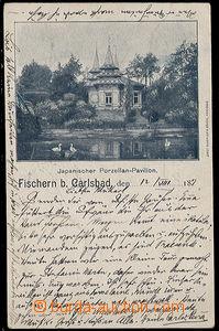 32109 - 1897 Rybáře u Karlových Varů - Fischern b. Carlsbad, jap