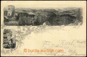 32119 - 1906 Kleť - Schöninger, Josefova rozhledna se záběrem na