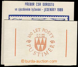 32440 - 1981/92 5ks známkových sešitků : Jeseník 81 (výstava z